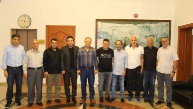 Photo of الهيئة الإدارية الجديدة للأزرق تزور وتشكر بلدية الغبيري